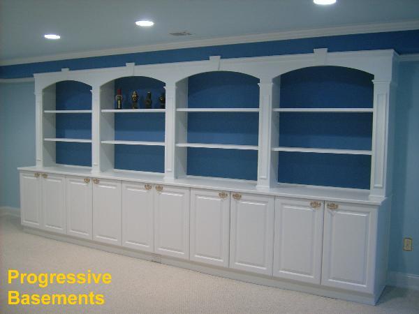 Basement Bars And Cabinets