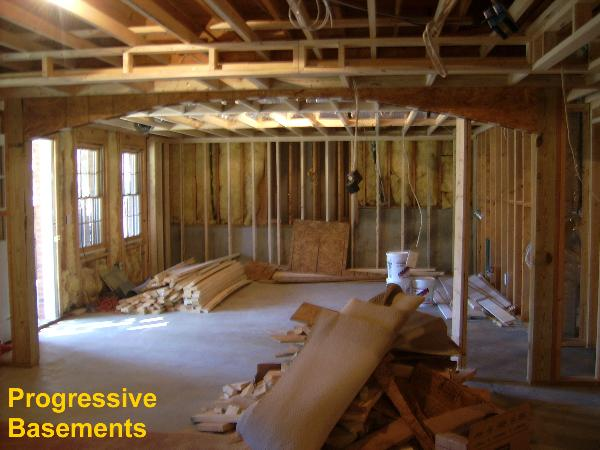 From Framing To Finished Creative Basement Finishing Photos For You