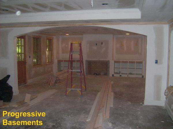Finished Basement Design Ideas